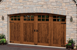 Precision garage doors of baltimore new garage door for Composite wood garage doors